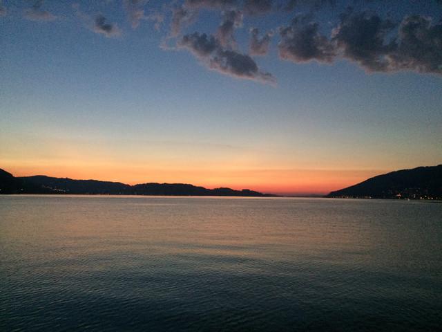 Sonnenuntergang Arth