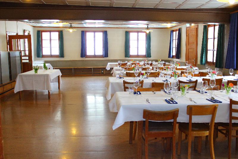 Ferienhaus Freiämter Speisesaaal