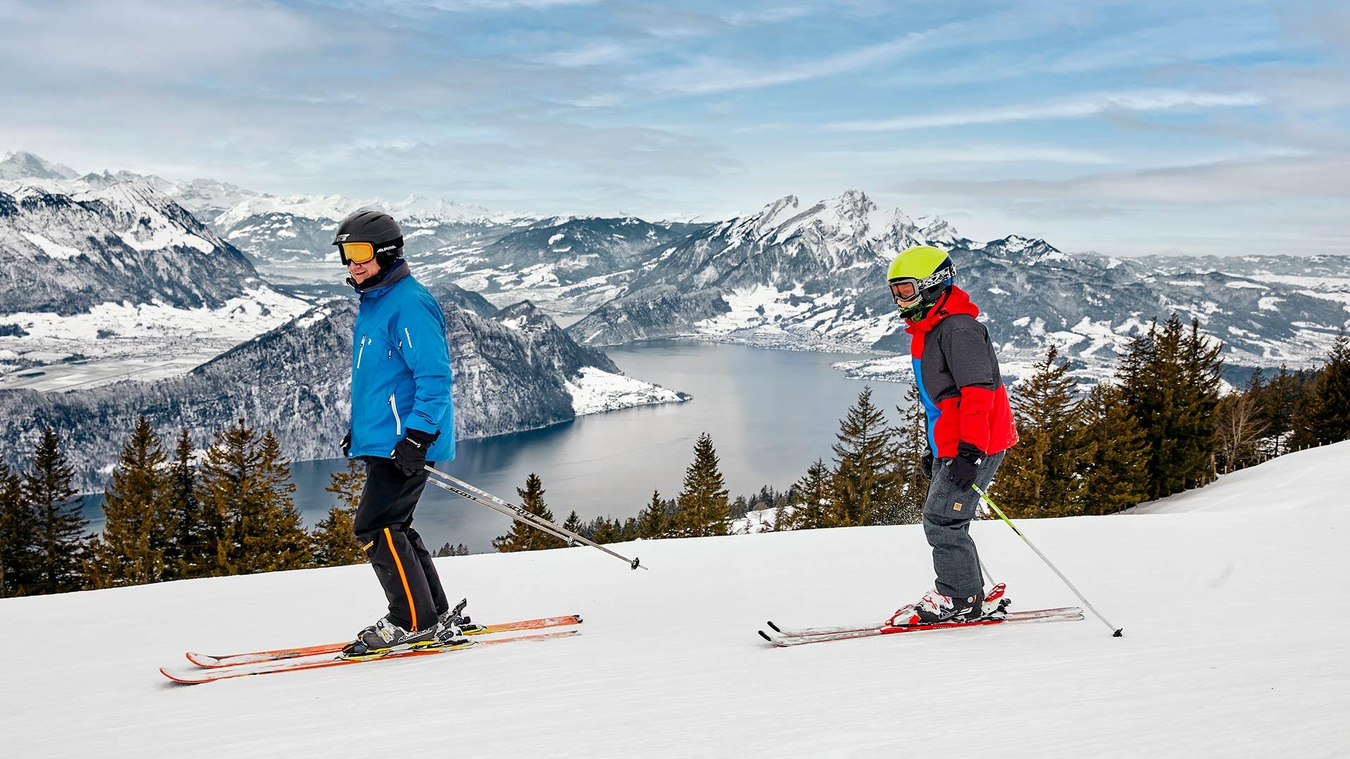 Skifahren Rotstock