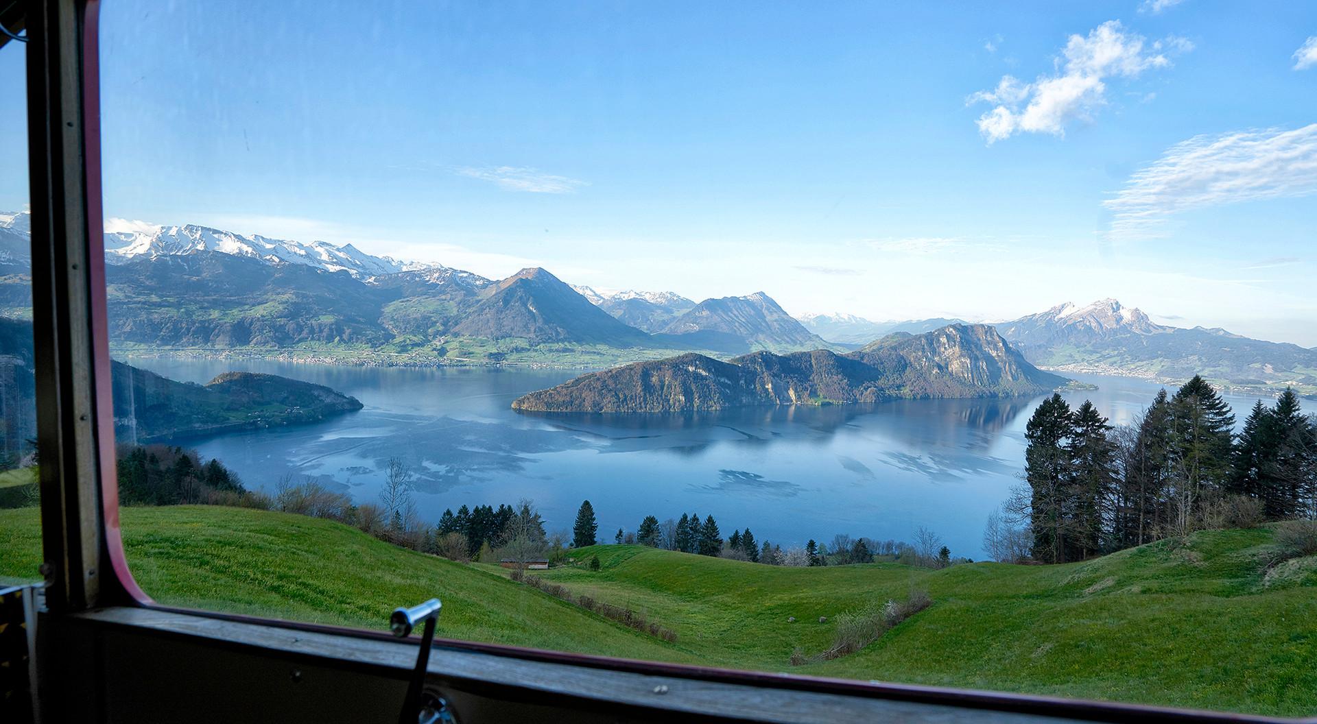 Panorama über Vierwaldstättersee (Hero Bild)