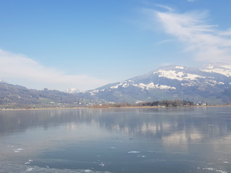 Lauerzersee im Winter