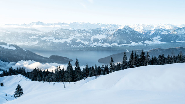 Winter Rigi Kaltbad