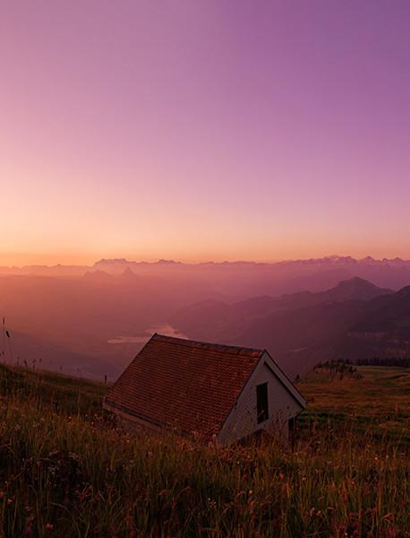 Panorama von Rigi Kulm