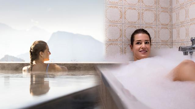 Nicht vor Ort ist nicht dasselbe - Badewanne