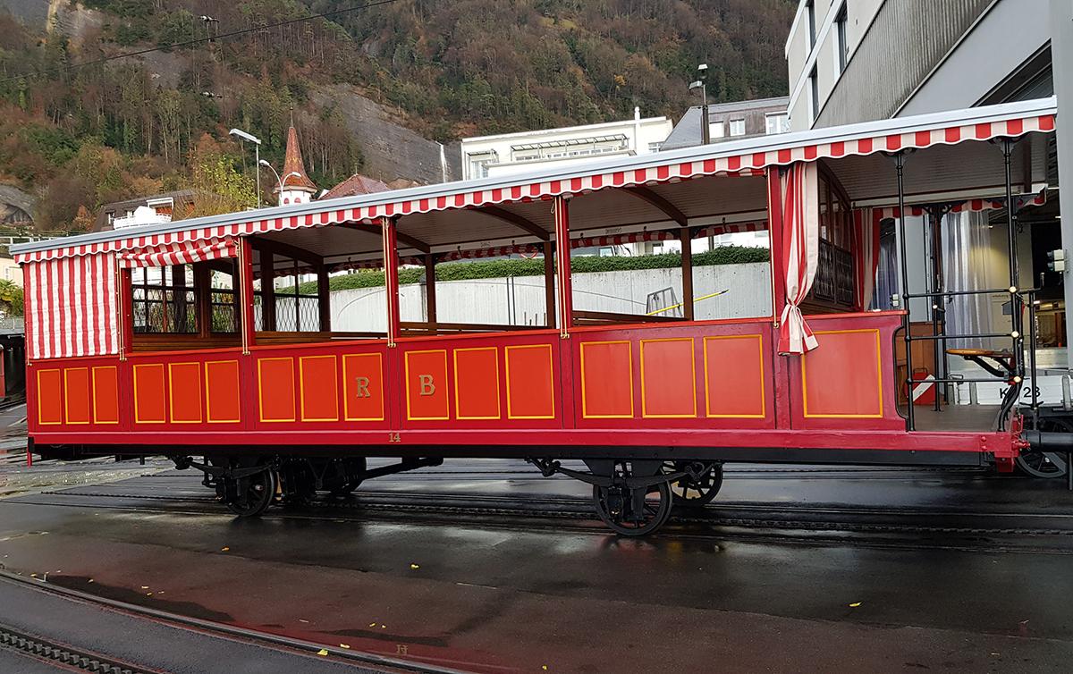 Vorstellwagen Nr. 14