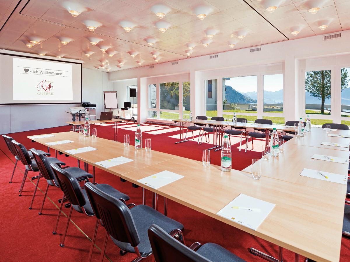 Hotel Rigi Kaltbad Seminarraum