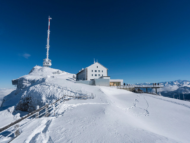Rigi Kulm Winter