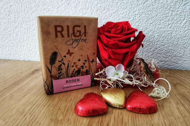 Valentinstag_ Rosen Seife