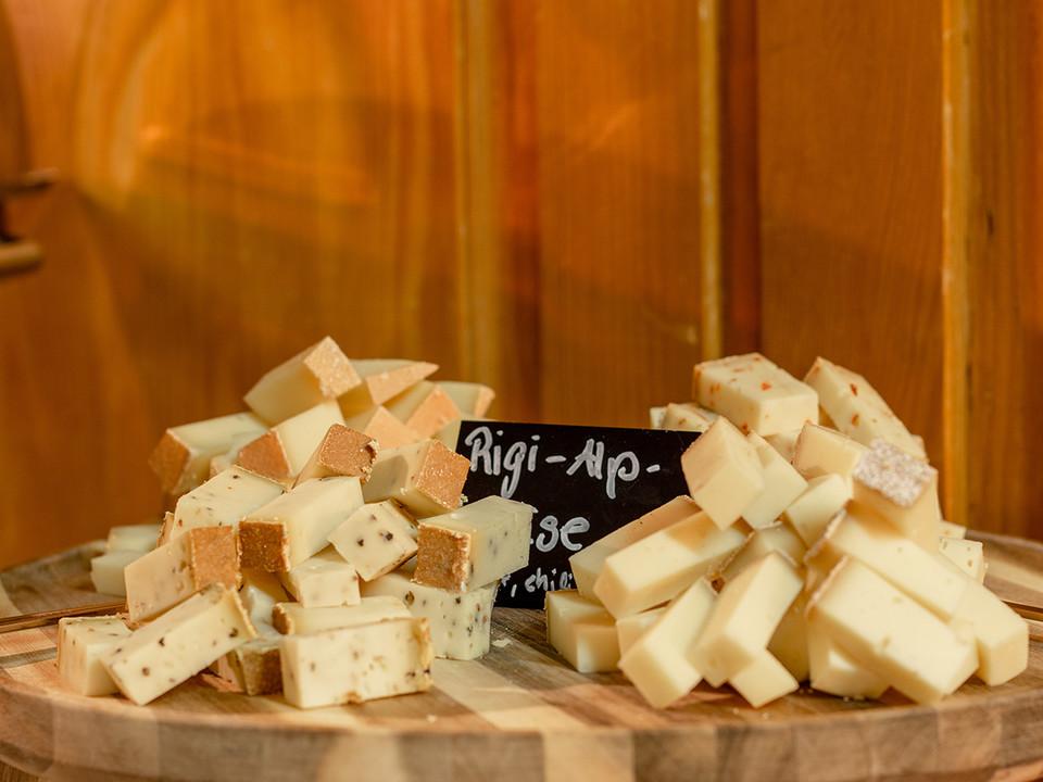 Sonntagsbrunch Käse