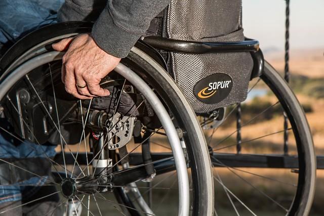 Rollstuhl Stockphoto