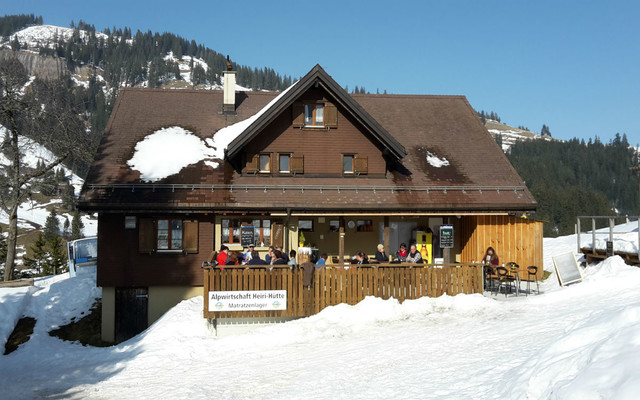 Heirihütte Winter