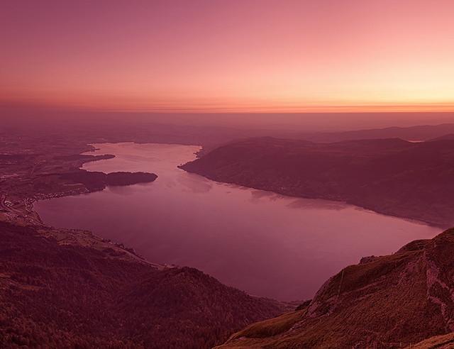 Panorama von der Rigi
