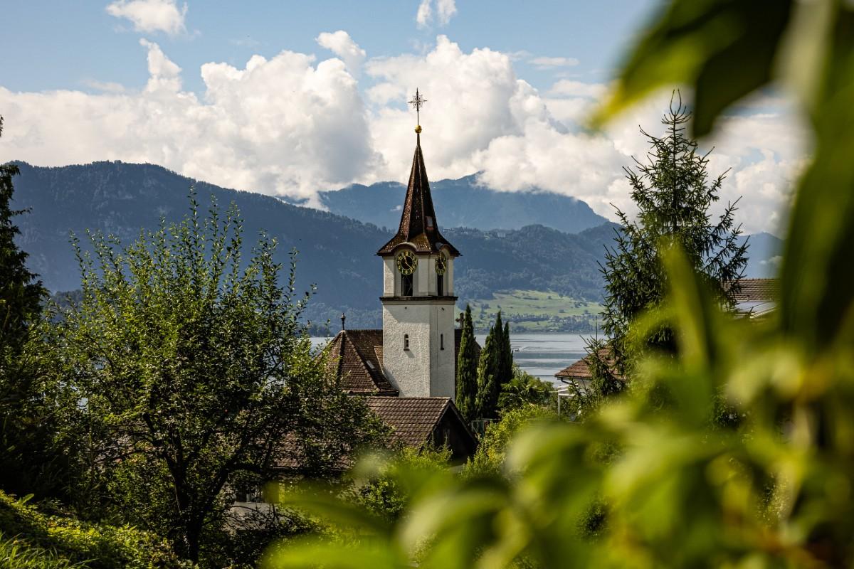 Die Kirche in Merlischachen