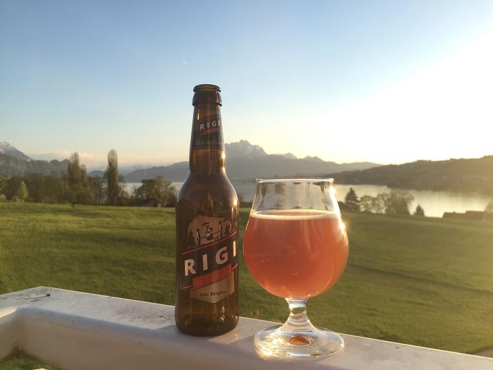 Bier Rigi Gold