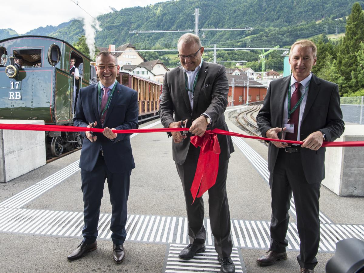 Eröffnung Hochperron Goldau