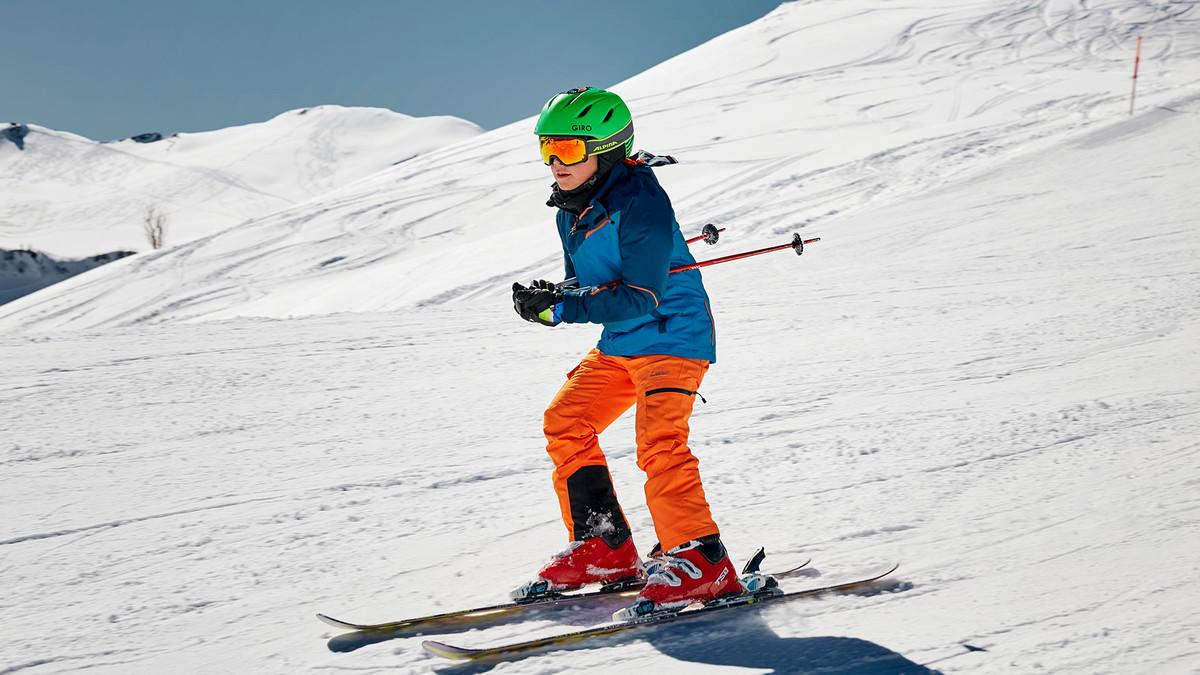 Skifahren auf der Rigi