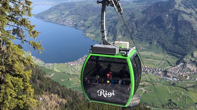 Luftseilbahn Kräbel - Rigi Scheidegg