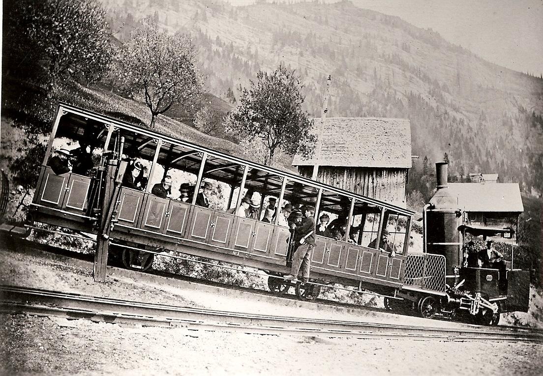 Nostalgische Bahn