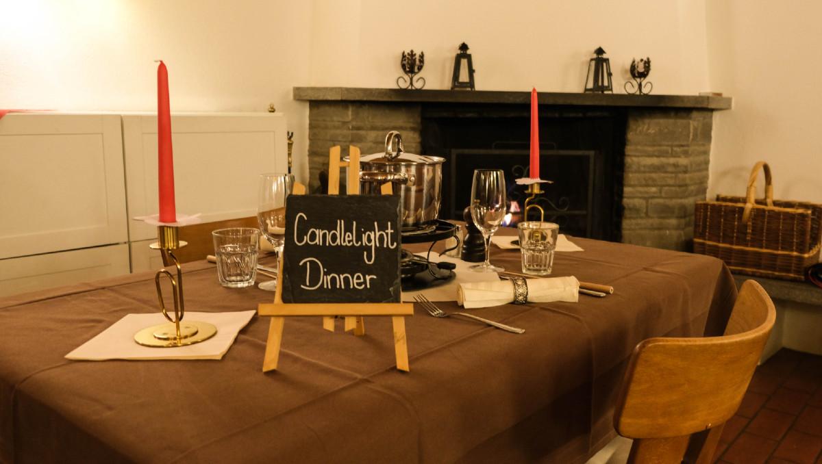 Candlelight Dinner Rigi Scheidegg