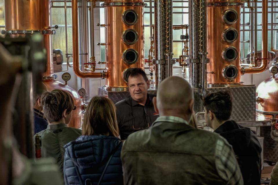 Führungen in der Destillerie Fassbind in Oberarth