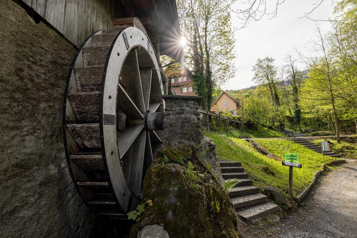 Mühlerad Gesslerburg