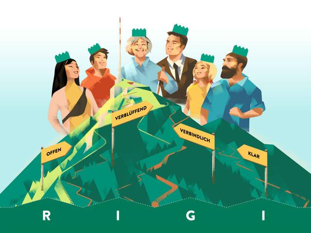 Leit-Bild Rigi Bahnen AG