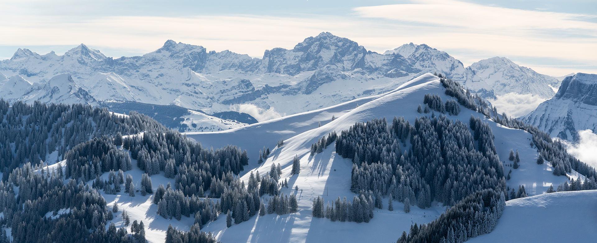 Winter Wunderland auf der Rigi