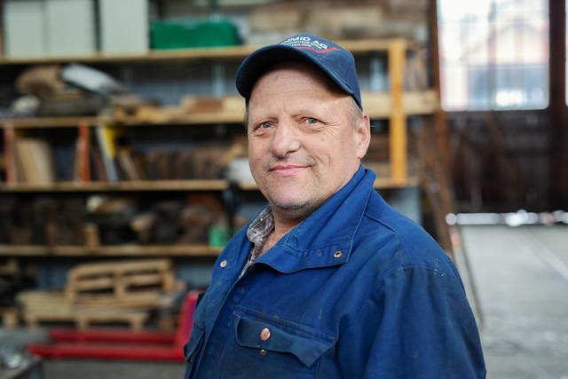 Mitarbeiter Depot Goldau, Schneeräumung