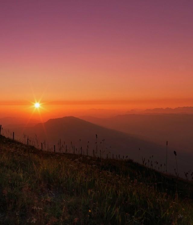 Sonnenaufgang Rigi Kulm (Hero Bild)