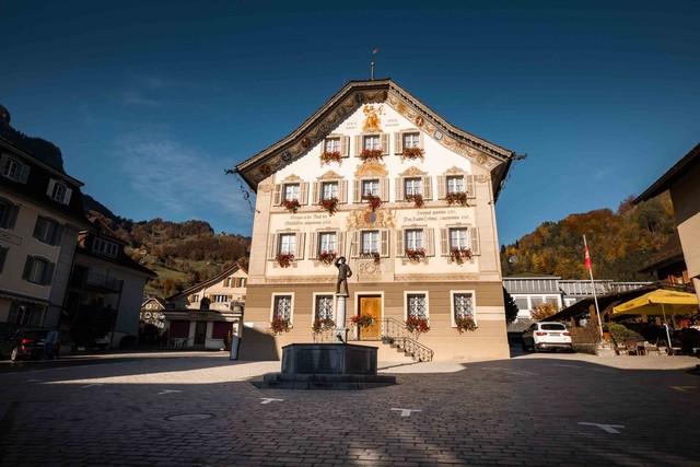 Gersau Dorfplatz