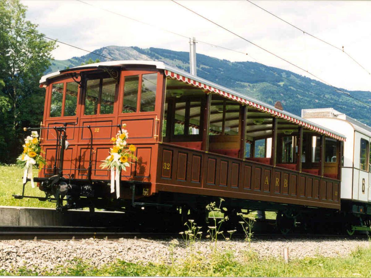 Vorstellwagen Nr. 32