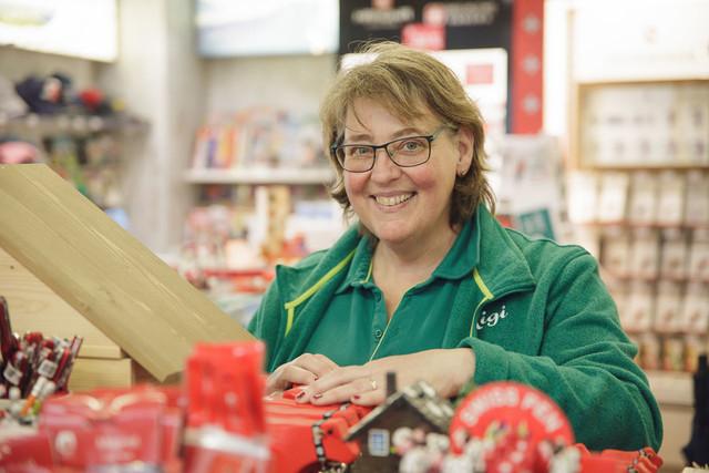 Mitarbeiterin Shop Vitznau, DLZ Rigi Kaltbad