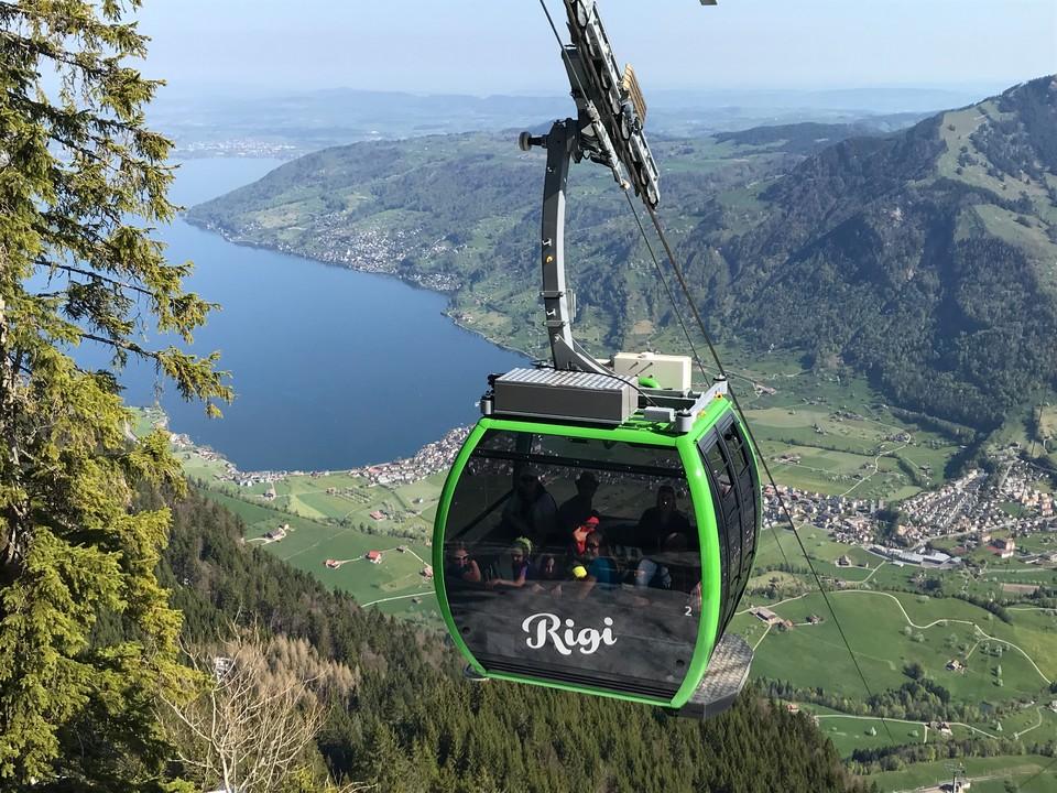 Luftseilbahn Kräbel-Rigi Scheidegg