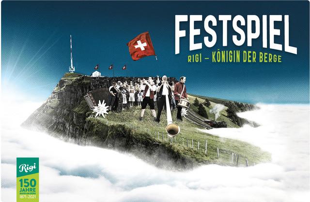 Keyvisual Festspiel Rigi - Königin der Berge